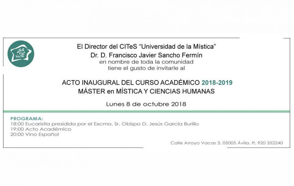 8945111d1 Inauguración Curso Académico 2018-2019